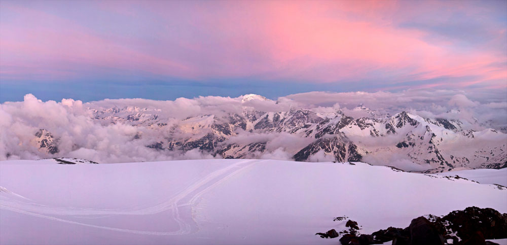 Mount Elbrus, Russia. Image: Philip Milne under a CC license