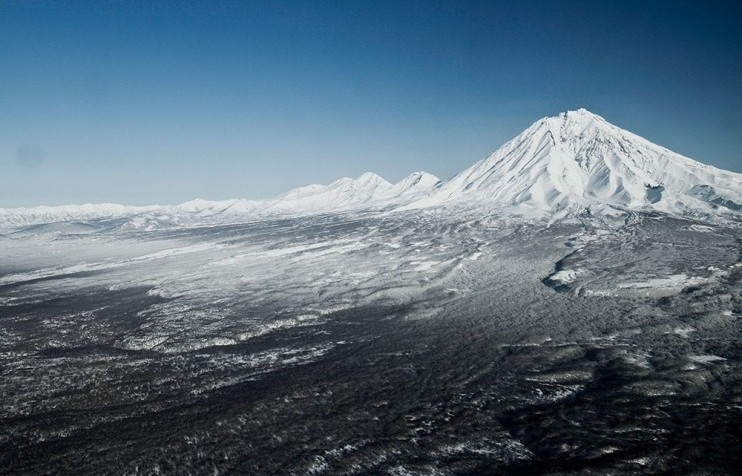 Backcountry skiing 5 Kamchatka