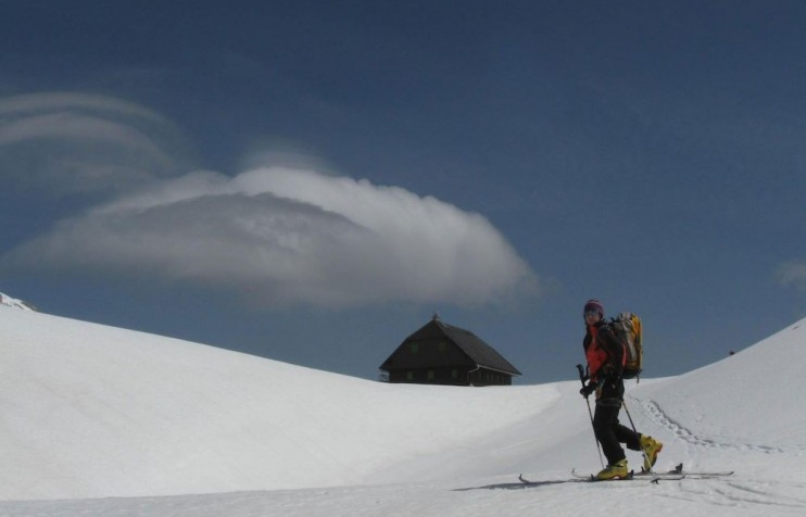 Backcountry skiing 6 Triglav