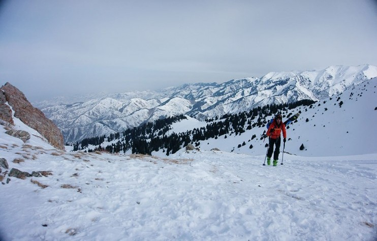 Backcountry skiing 2 Almaty