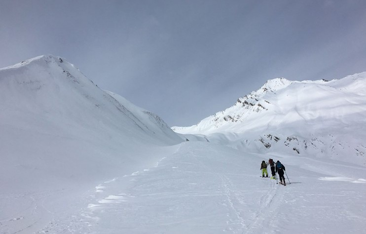 Backcountry skiing 4 Gudauri