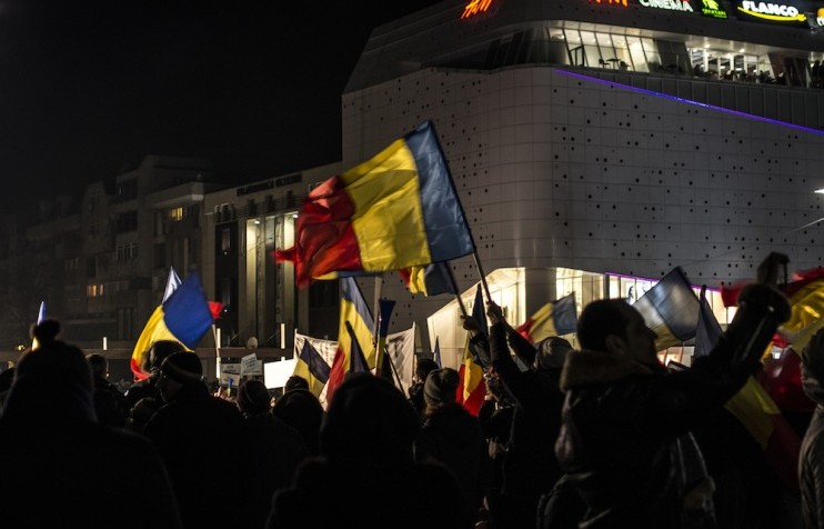 romania protests general