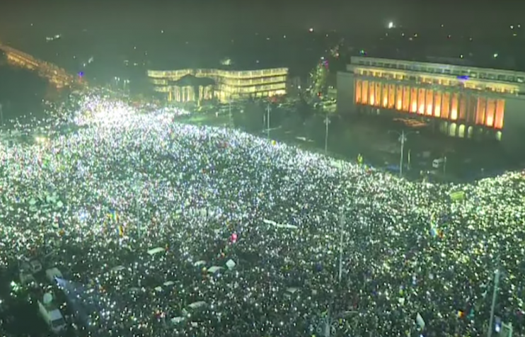 romania protests other art