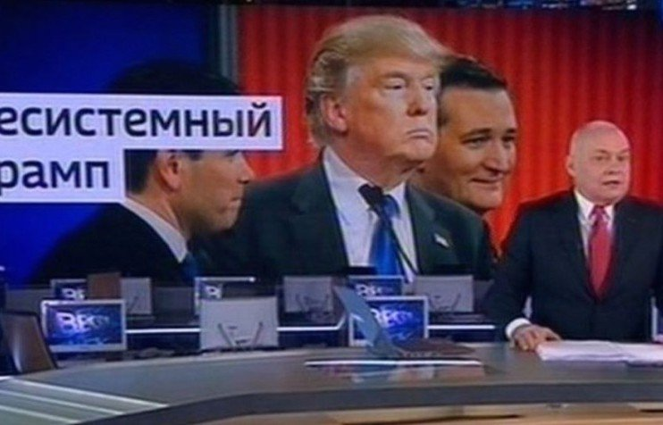 russian tv trump