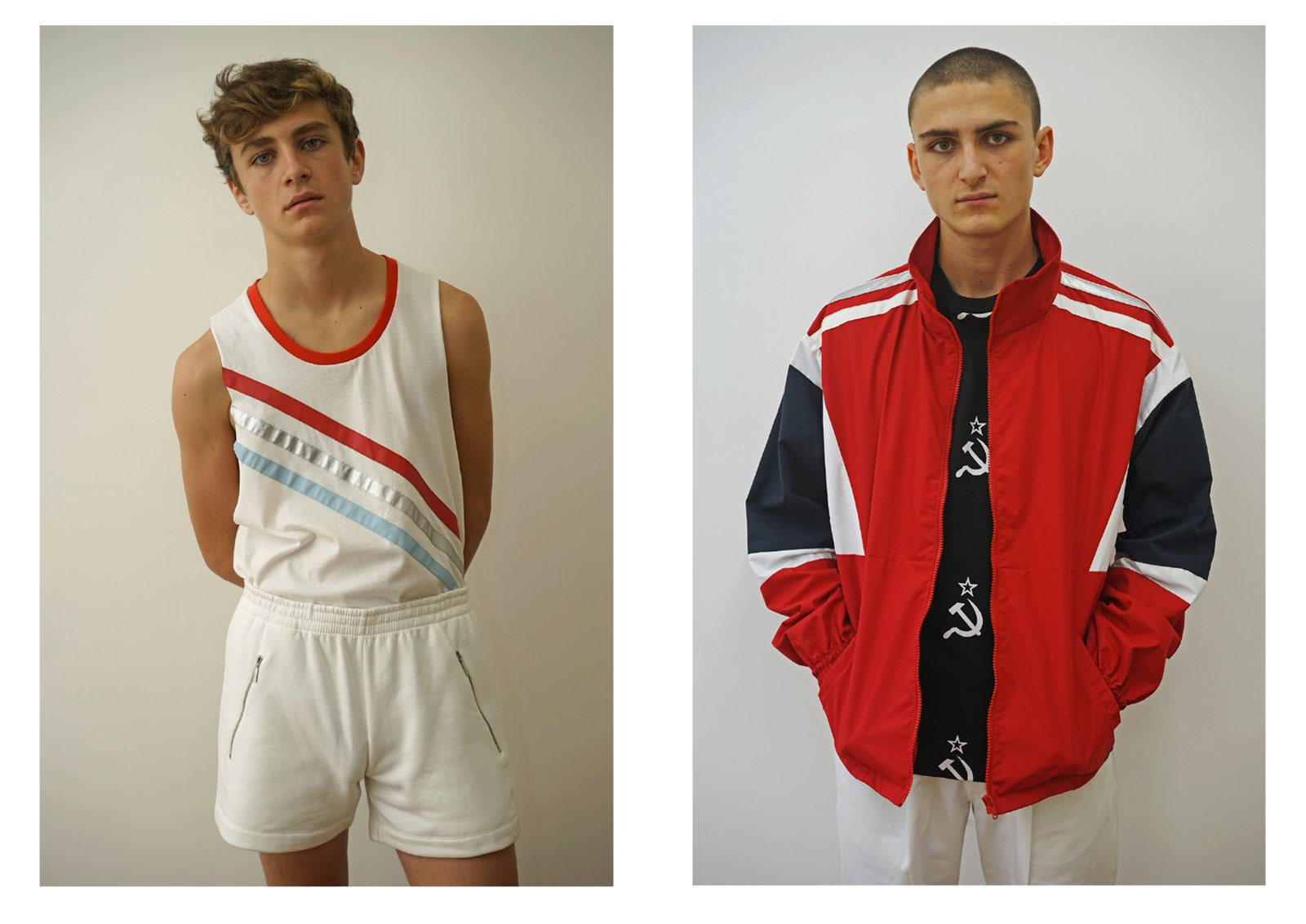 "Gosha Rubchinskiy, ""1984"" collection (S/S 2016)"