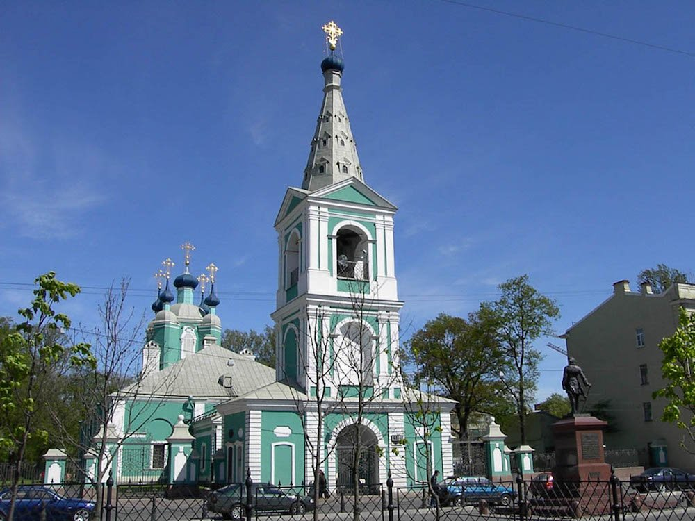 St Sampson's cathedral, one of the oldest in St Petersburg (Aleksandr Razumov under a CC licence)