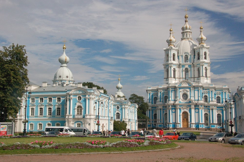 The Smolny cathedral, which has already passed into the hands of the Russian Orthodox Church (David Casteel under a CC licence)