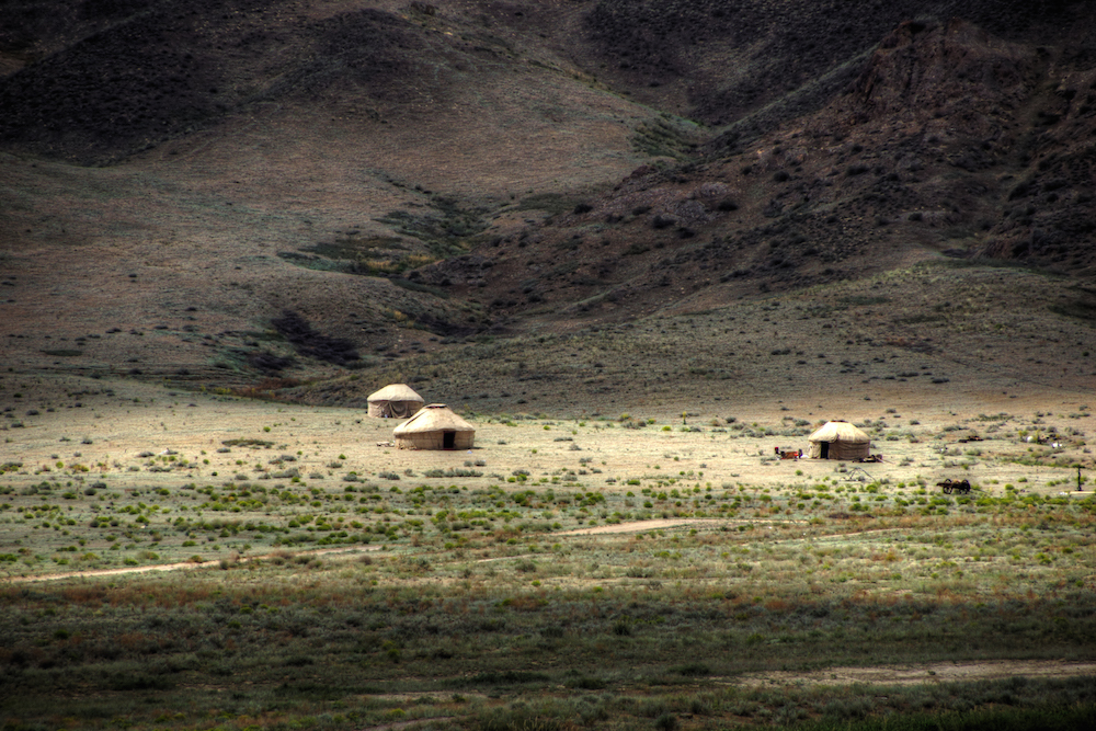 A view of the steppe in central Kazakhstan. Image: mariusz kulzniak under a CC licence