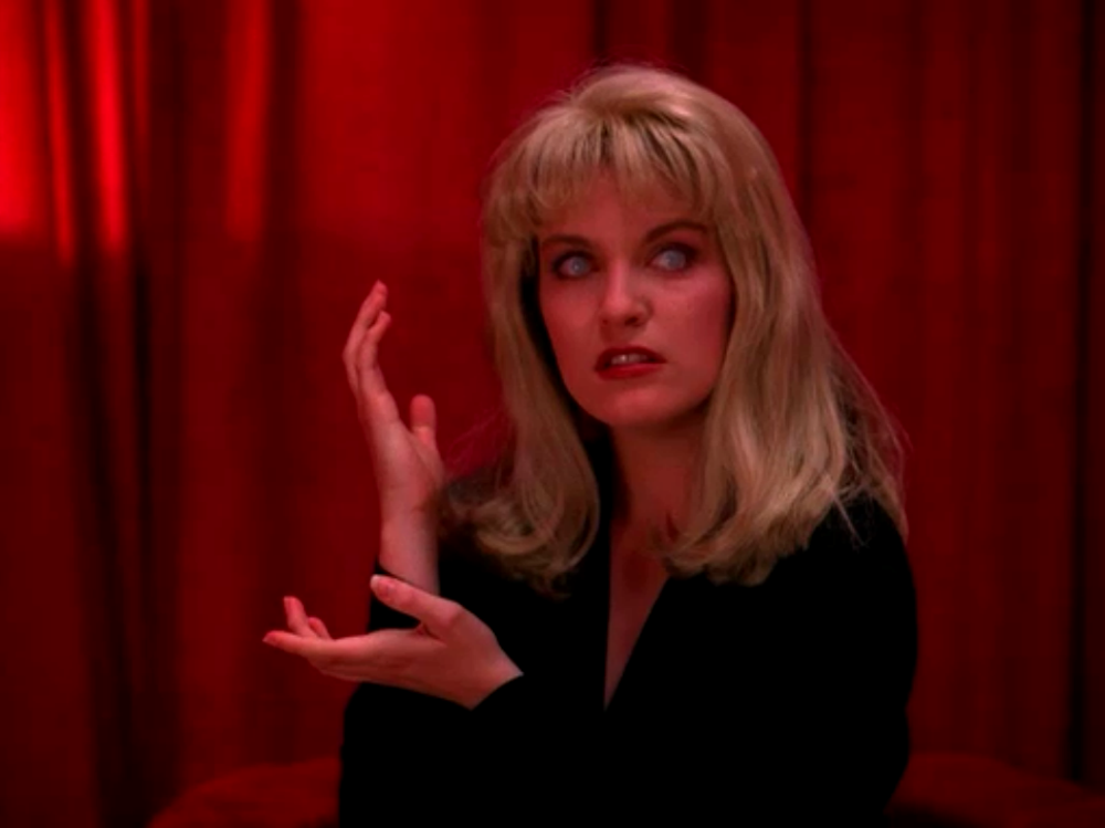 Sheryl Lee as Laura Palmer in <em>Twin Peaks</em>. Image: bswise under a CC licence
