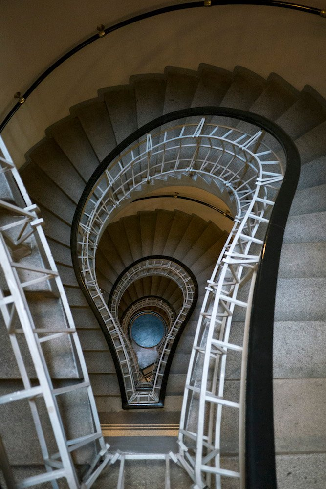 Black Madonna staircase. Image: Thomas Ledl CC license
