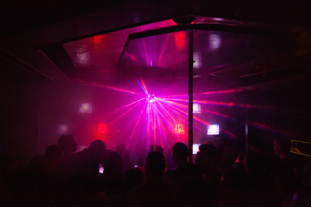 Inside Belgrade's 20 44 nightclub. Image: SHARE Conference under a CC licence.