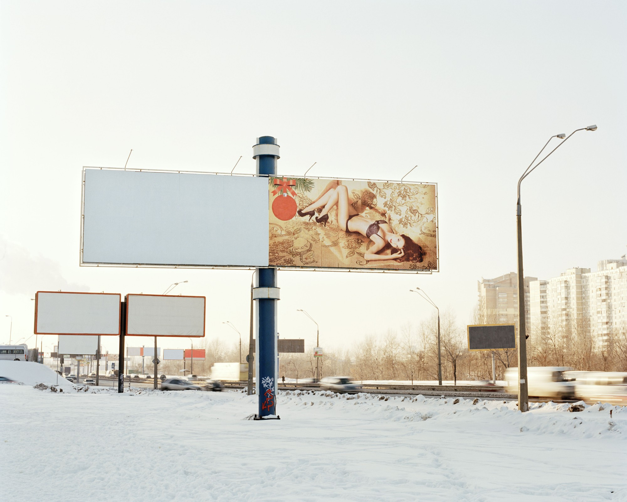 Advertisement. From <em>Ekaterina</em> (2012) by Romain Mader