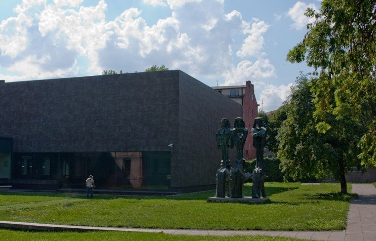 kaunas post and ciurlionis