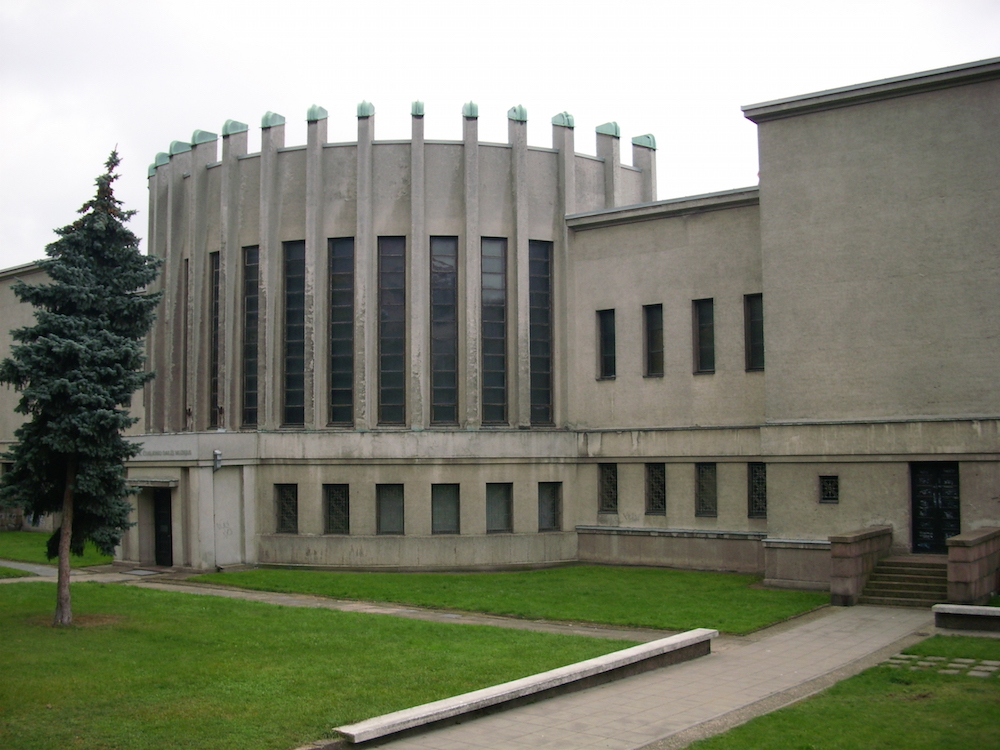 Rotunda of the Ciurlionis Museum of Art (image: Theresa under a CC licence)