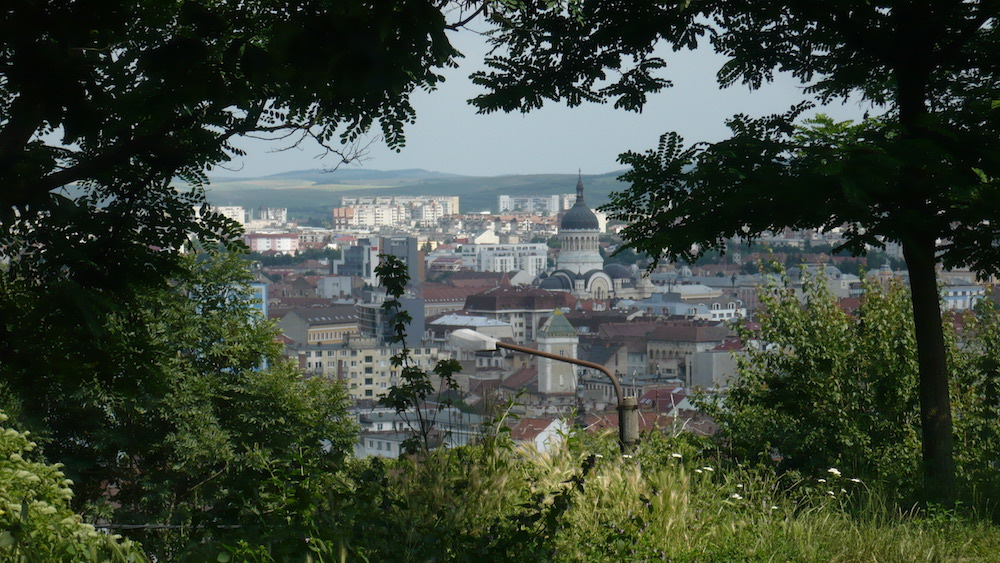 View onto Cluj from the city Citadel. Image: Cinty Ionescu under a CC licence