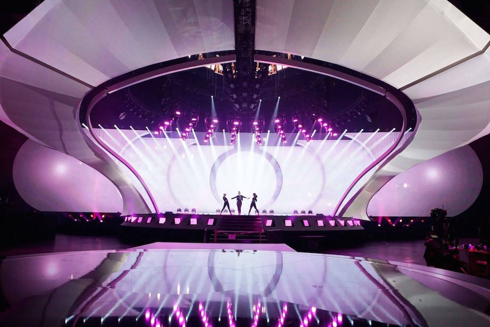 Rehearsals underway ahead of the 2017 edition. Image: Eurovision Song Contest/Facebook