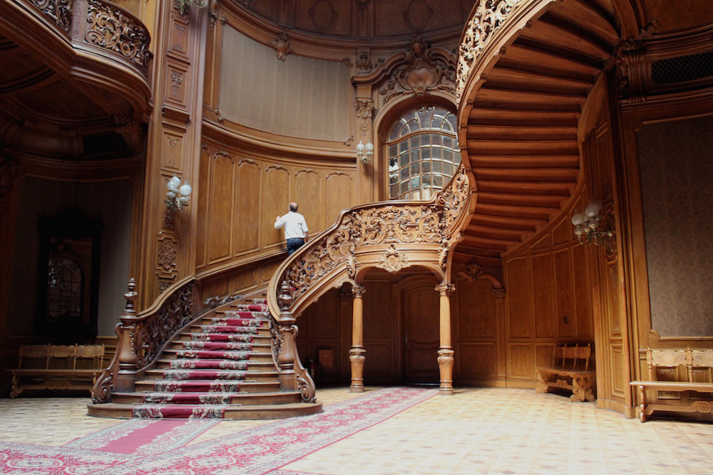 Central staircase of the House of Scientists