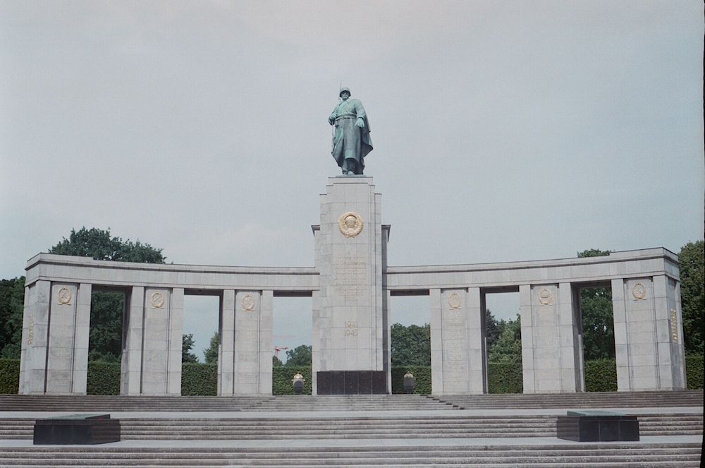 The Soviet War Memorial at Tiergarten. Image: Elise Morton