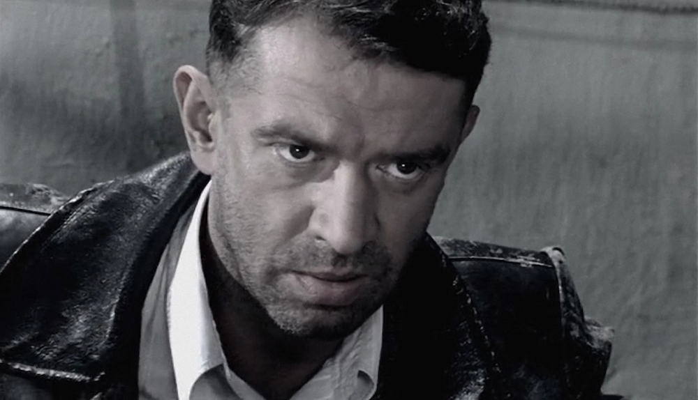 Vladimir Mashkov as Odessa detective David Gotsman in recent miniseries <em>Liquidation</em> (2007)