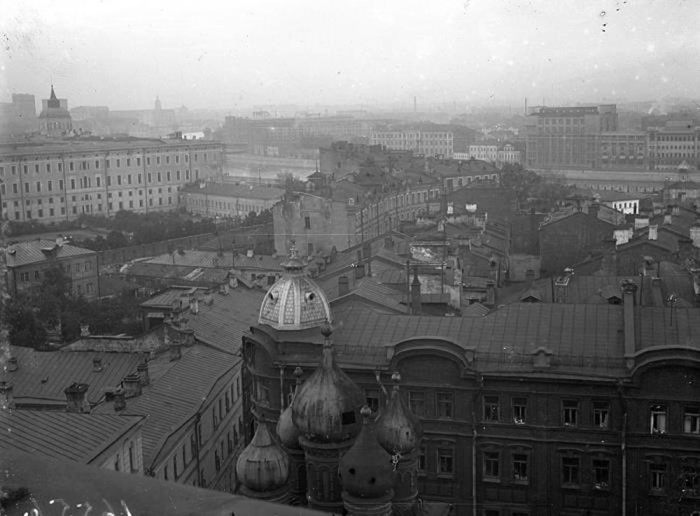 Zaryadye in the 1930s. Image: Heart of Moscow/Facebook