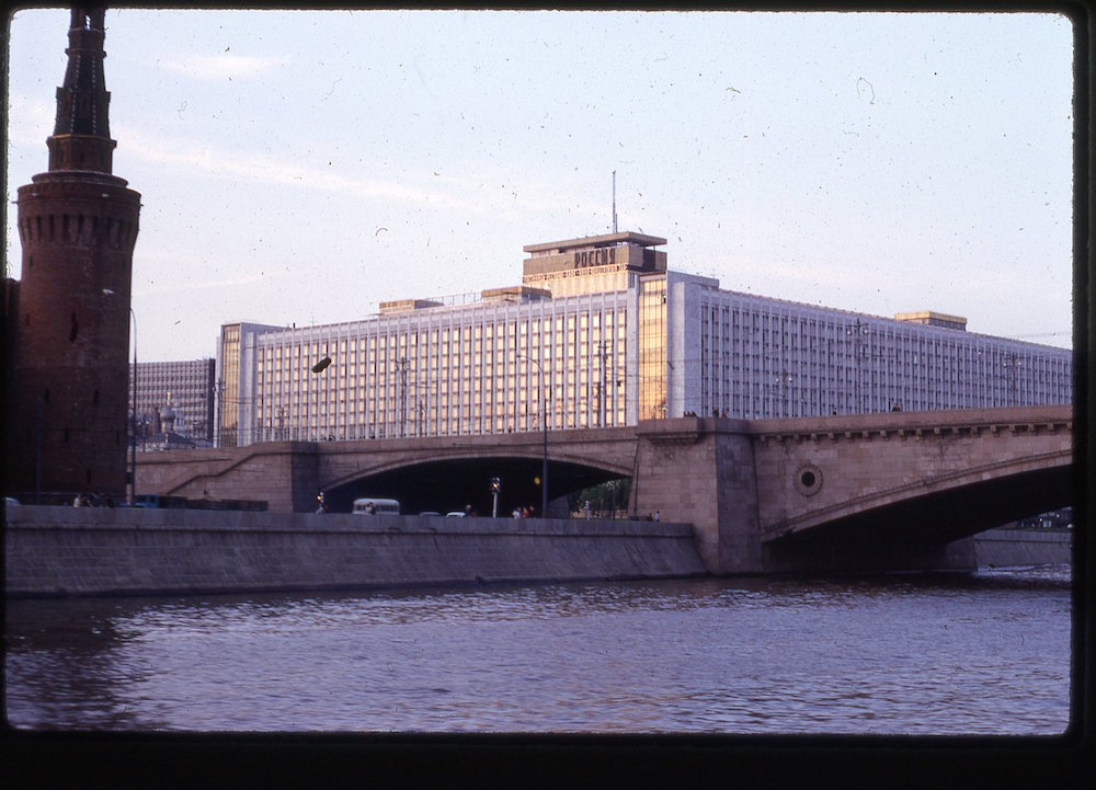 Hotel Rossiya, 1969. Photograph by David C. Cook, courtesy of Rob Ketcherside