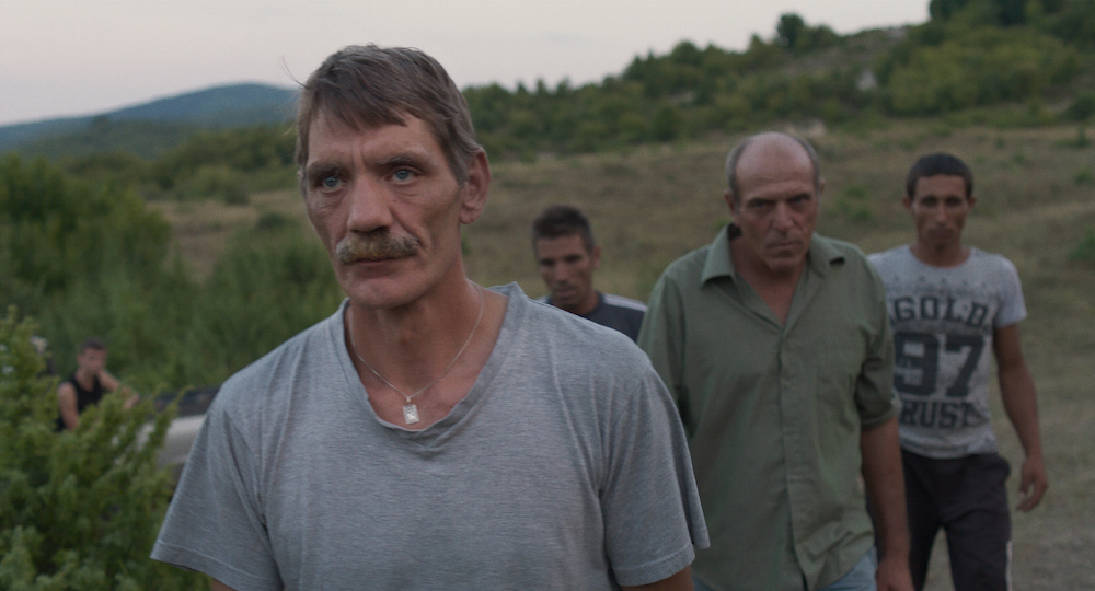 Meinhard and the Bulgarian villagers. Image: New Wave Films