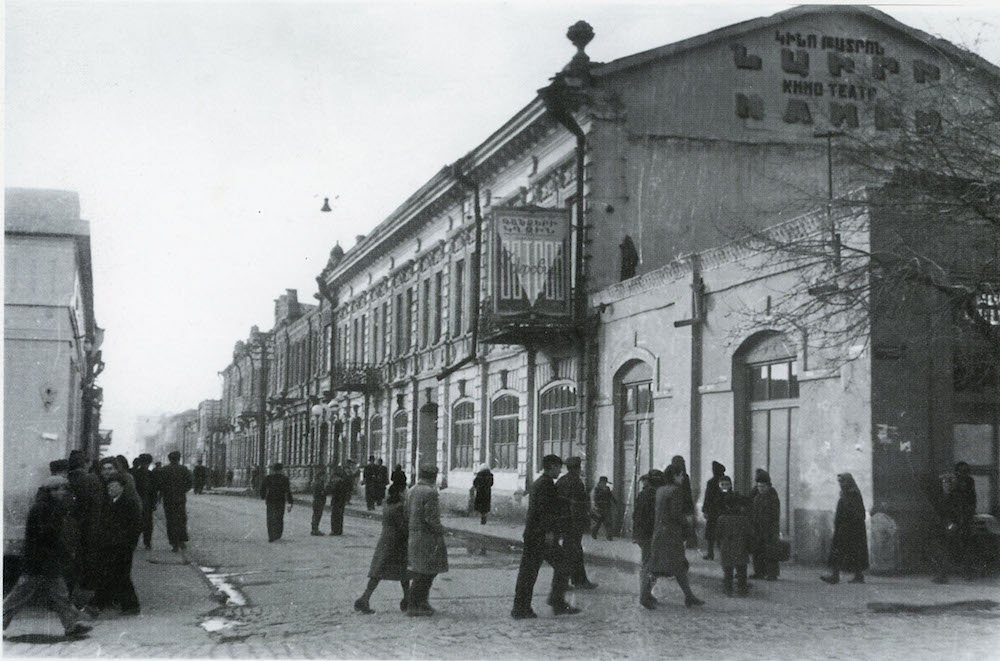 The Nairi cinema in 1930. Photo from the collection <em>My Yerevan</em> by Garegin Zakoyan, Max Sivaslian and Vahan Navasardian