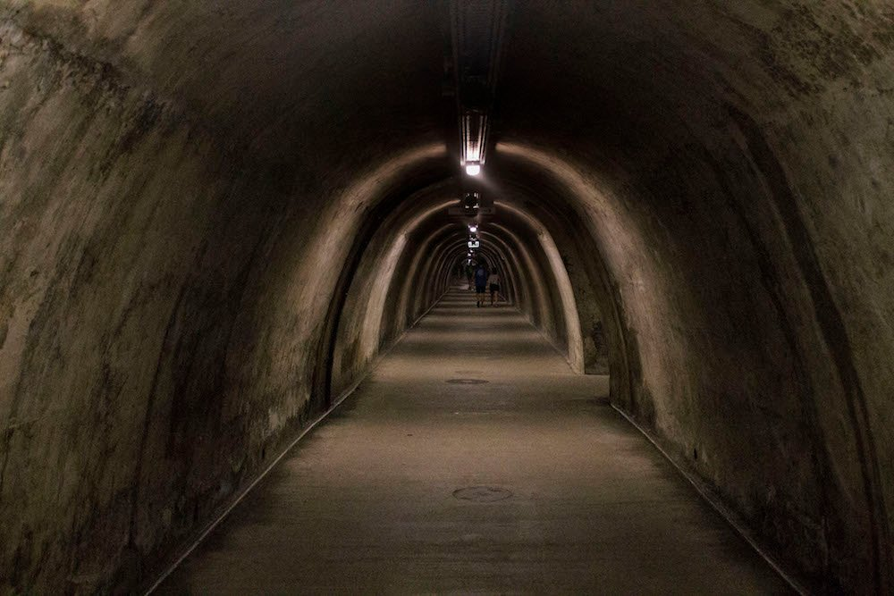The Gric Tunnel under Zagreb. Image: Jelena Prtoric