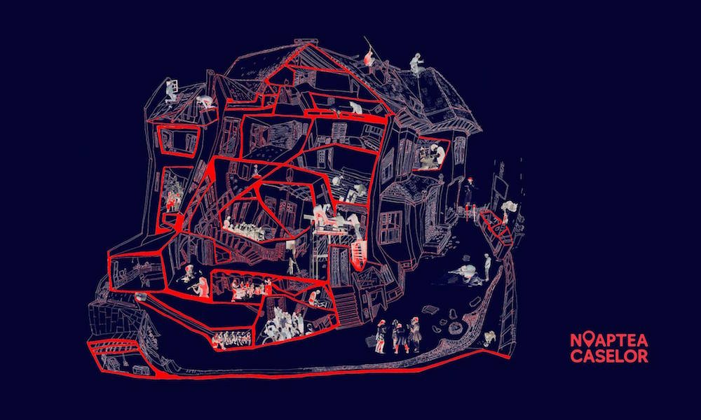 Map to the house at Carol 53 produced for the Night of the Houses. Image: Carol 53/Facebook