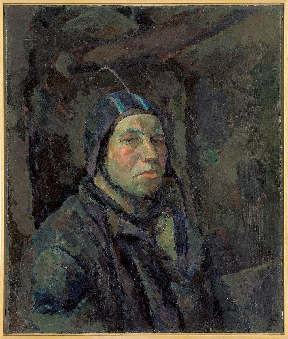 <em>Self-Portrait</em>, 1959, by Ilya Kabakov