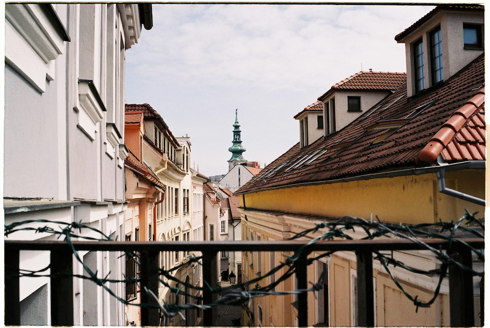 View of Bratislava's Old Town