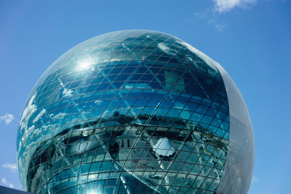 The central pavilion of the 2017 Expo in Astana. Image: Samuel Goff