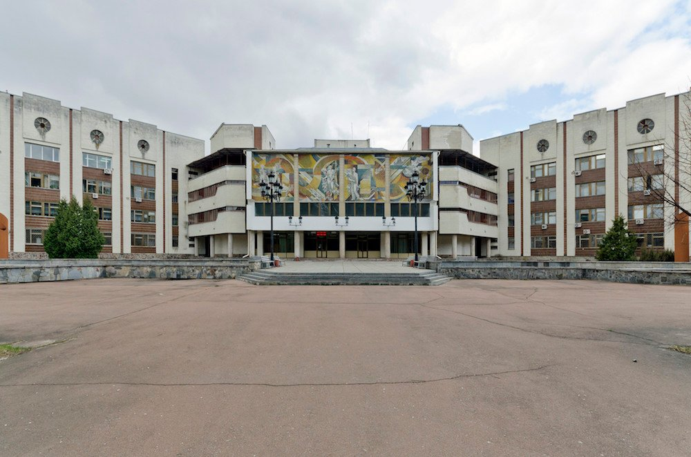 Hospital in Slavutych. Image: Oleksandr Burlaka under a CC License