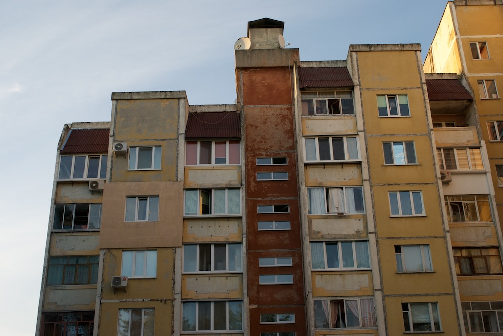 Buildings in the Kiev quarter. Image: Aleksandra Burshteyn