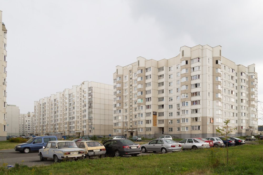 State firms still dominate Minsk architecture