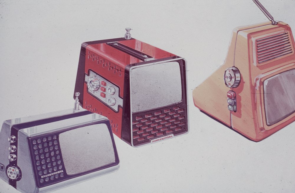 Portable television, 1980s. Image from the archive of the Moscow Design Museum