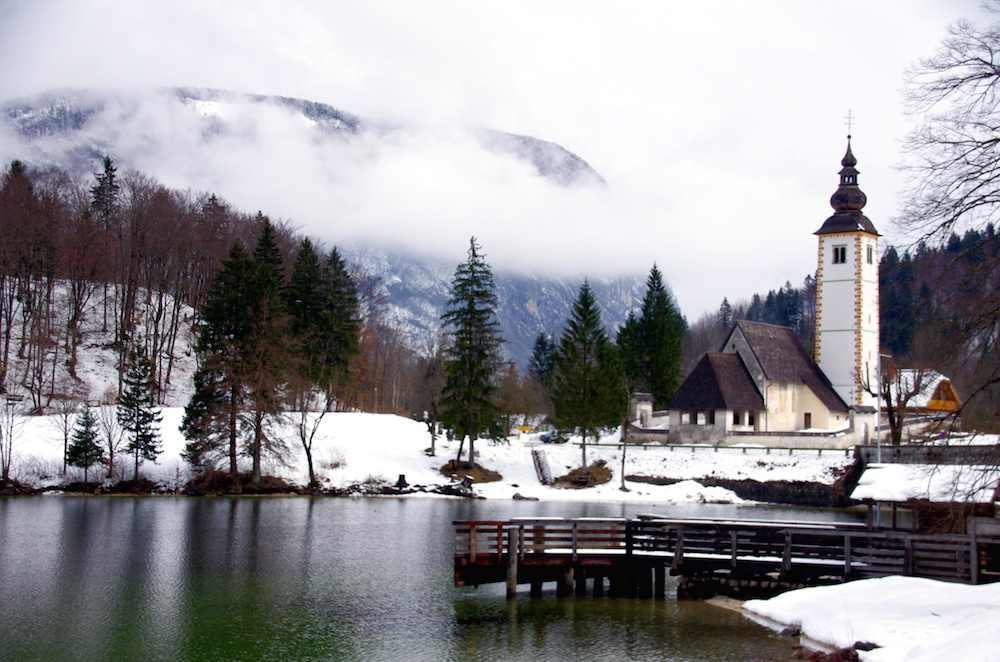 Bohinj Lake. Image: Donald Judge under a CC license