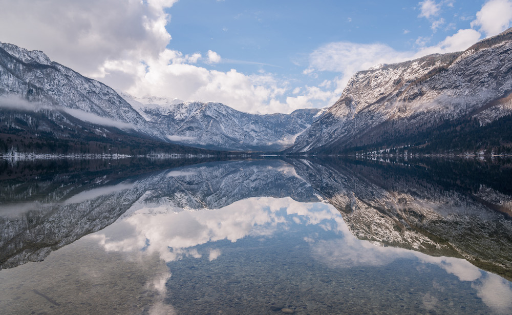 Lake Bohinj. Image: Dreamy Pixel under a CC license
