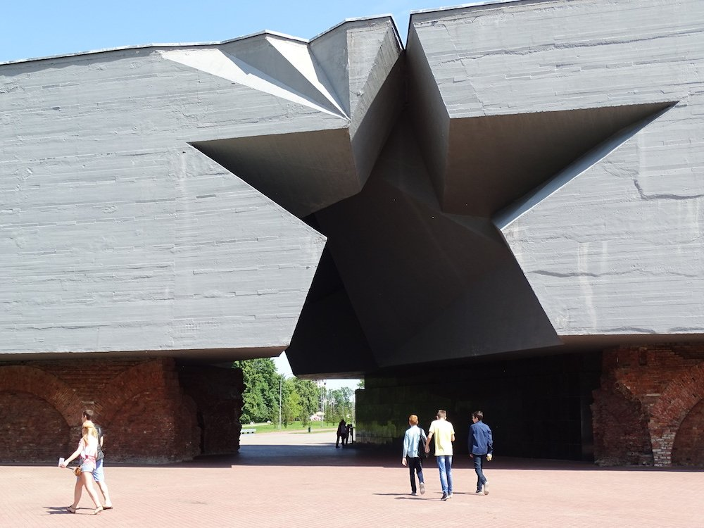 Entrance to Brest Fortress. Image: Adam Jones under a CC license