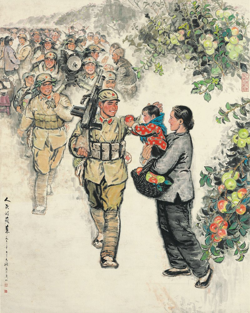 Tang Daxi, <em>The People's Apples</em> (1973) (M.K. Lau Collection)