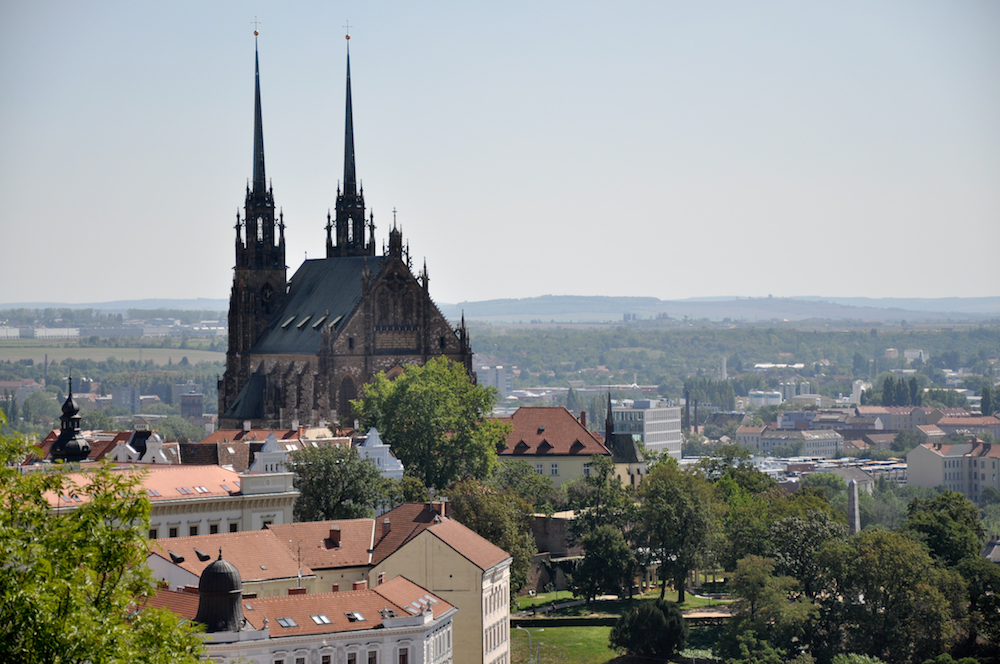 Cathedral of St Peter and Paul, Brno. Image: Larsjuh under a CC license