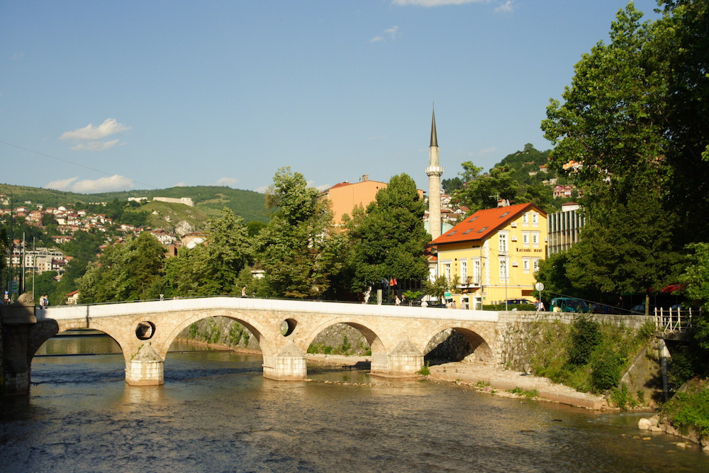 Sarajevo. Image: James Offer under a CC license