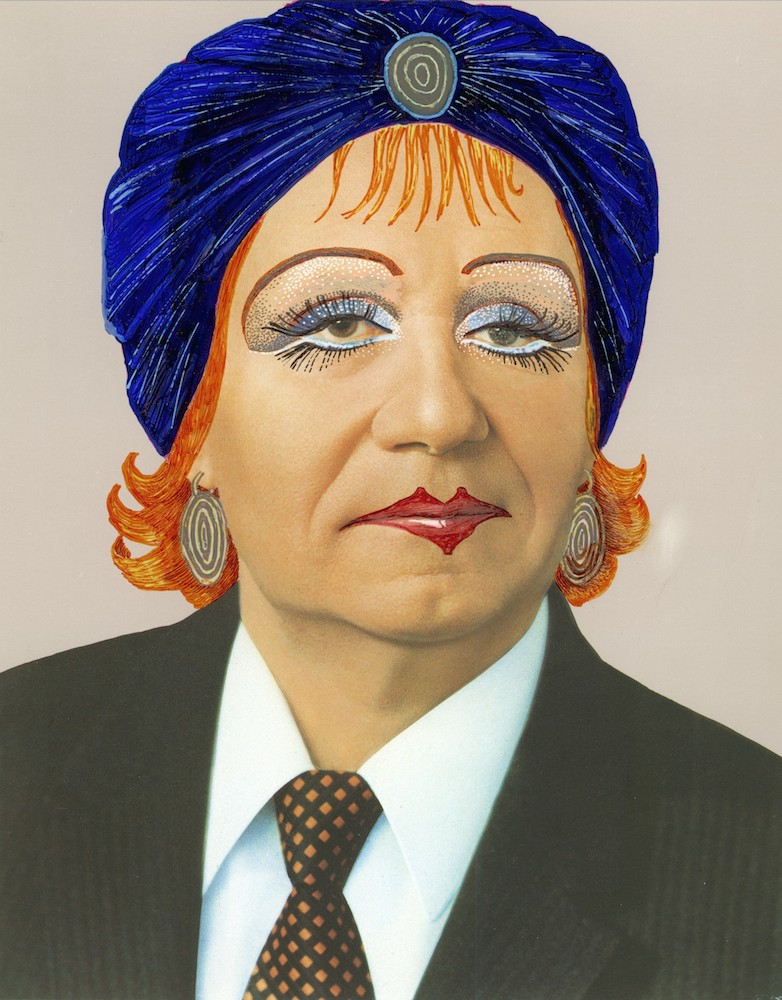 Mamyshev-Monroe as a feminised version of Soviet statesman Andrei Gromyko