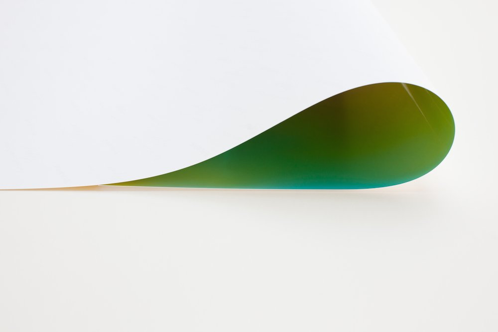 Wolfgang Tillmans, Paper Drop (Green) II (2011)