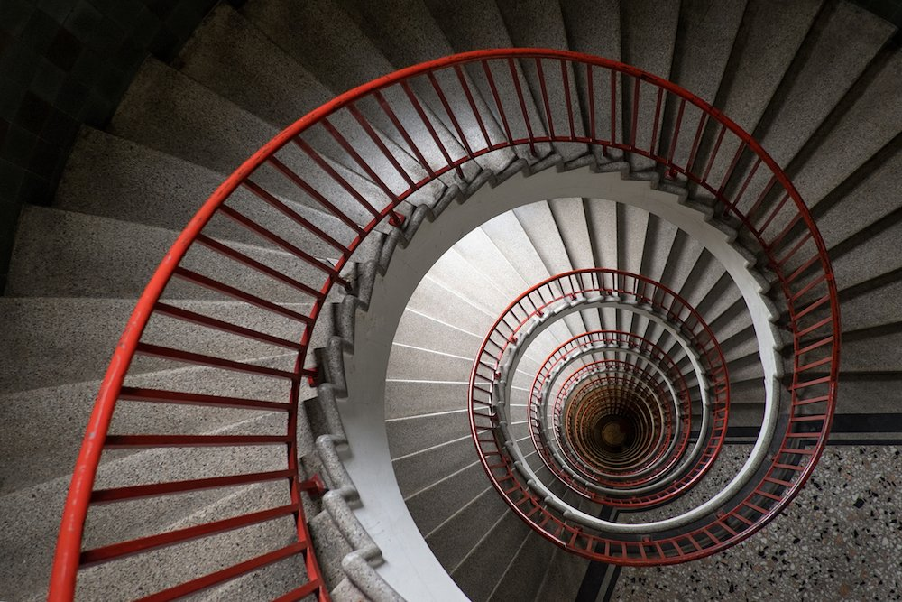 Neboticnik staircase. Image: Gert Swillens under a CC licence