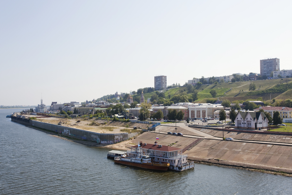The Volga embankment