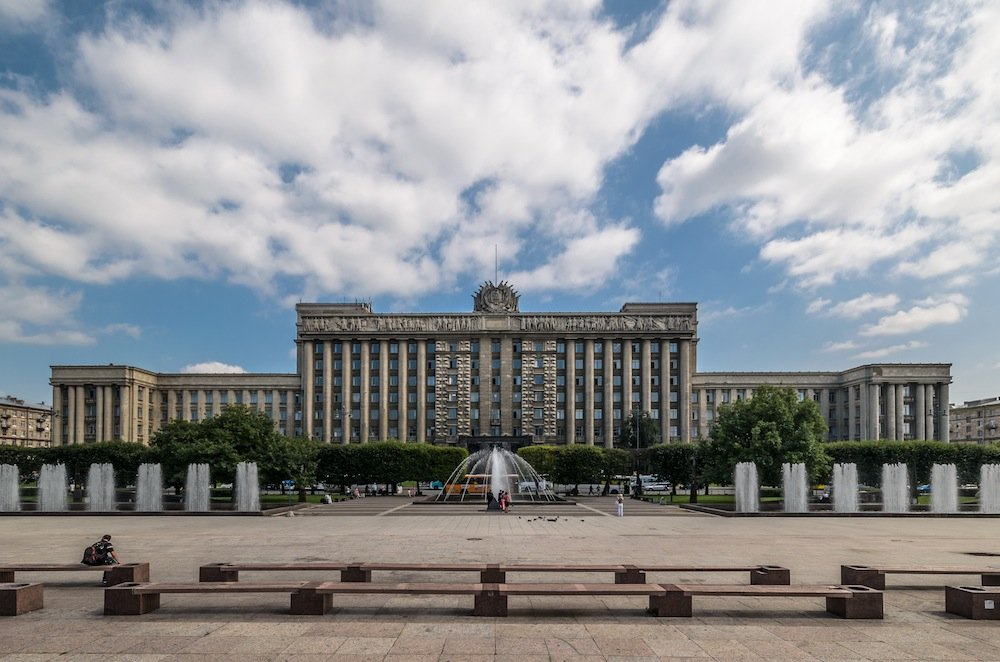 House of Soviets, St Petersburg. Photograph: Alex Florstein under a CC licence