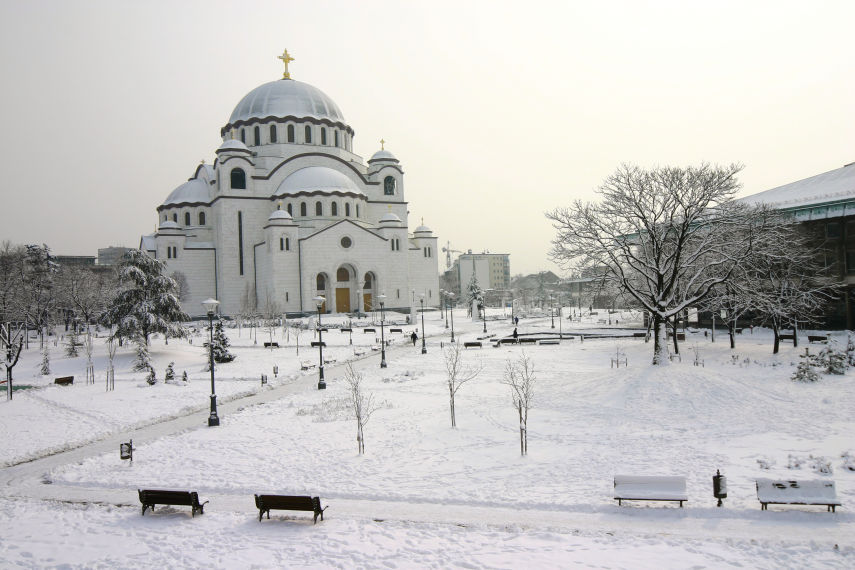 Temple of St Sava. Image: National Tourism Organisation/Branko Jovanovic