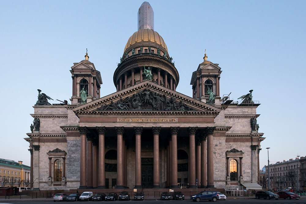 St Isaac's Cathedral. Image: Egor Rogalev