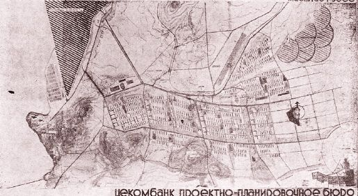 General plan for Magnitogorsk (1931), by Ernst May